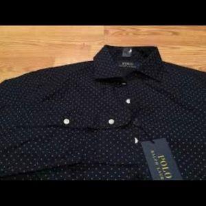 New polo button down shirt